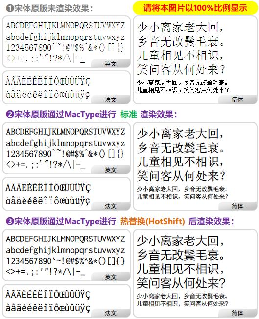 2.渲染效果对比LCD