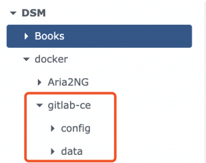 把家里的服务器利用起来之爱快+群晖中用docker自建gitlab